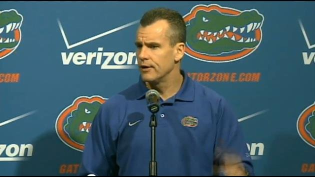 UF Basketball Head Coach Billy Donovan.