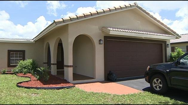 The Reedys' new Coral Springs home