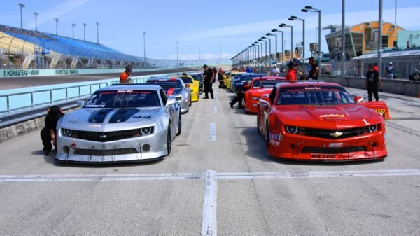 Trans Am racing at Homestead Miami Speedway