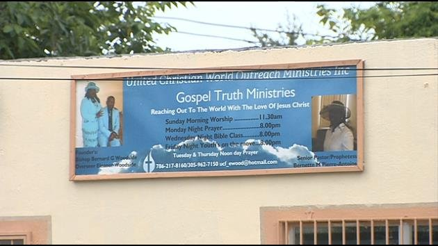 United Christian World Outreach Ministries in Miami.