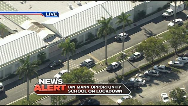 Police temporarily lockdown Jan Mann Opportunity School in search of gun