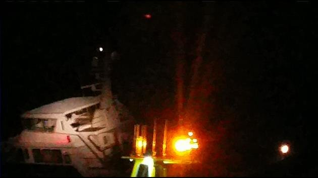 Superyacht Serena III sank on 13 nautical miles off Fort Lauderdale