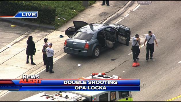 Two people shot in Opa-locka