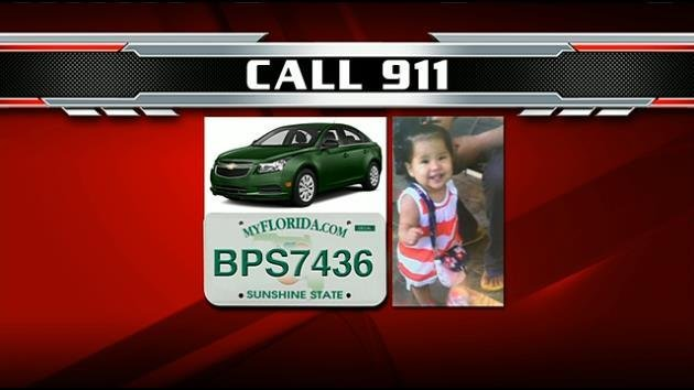 Amber Alert issued for missing South Florida child