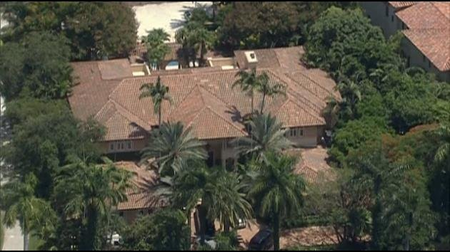 Ray Allens Coral Gables home