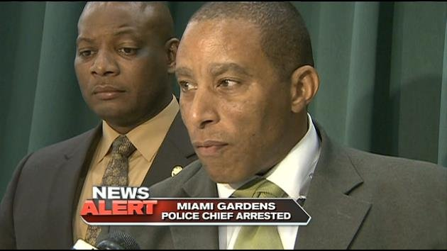 Miami Gardens Police Chief Arrested During Prostitution Sting Hialeah News Newslocker