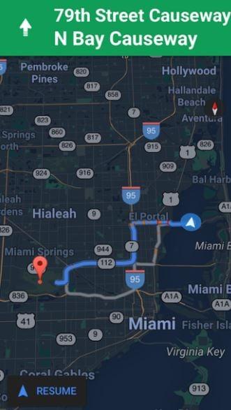 Google Maps gets night mode for iOS - Miami news - NewsLocker